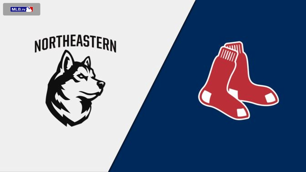 Northeastern Huskies vs. Boston Red Sox