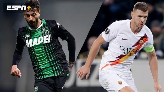 In Spanish - Sassuolo vs. AS Roma (Serie A)