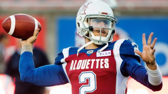 Montreal Alouettes vs. Winnipeg Blue Bombers