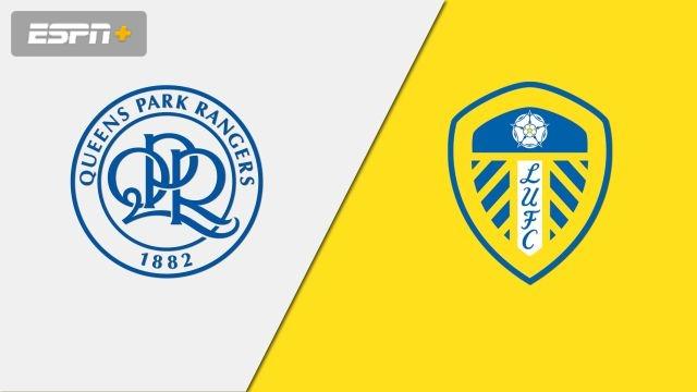 In Spanish-Queens Park Rangers vs. Leeds United (English League Championship)