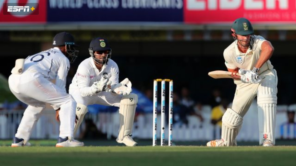 India vs. South Africa (3rd Test - Day 4)