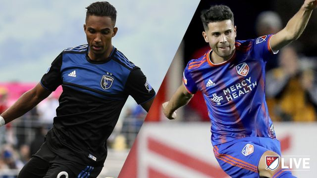 San Jose Earthquakes vs. FC Cincinnati
