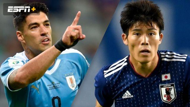 In Portuguese-Uruguay vs. Japan (Fase de Grupos) (Copa America)