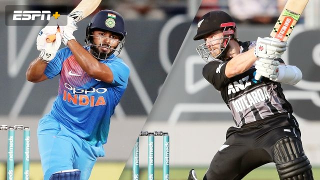 New Zealand vs. India (1st T20)