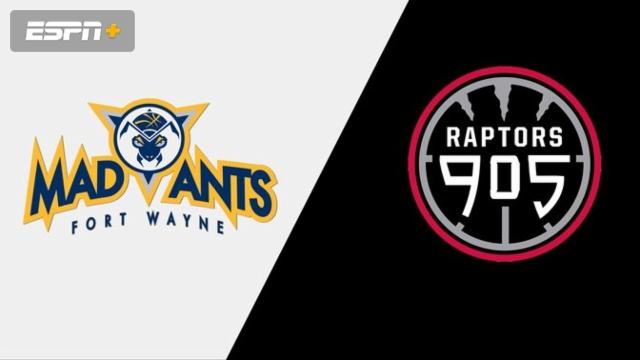 Fort Wayne Mad Ants vs. Raptors 905