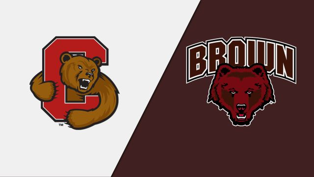 Brown vs. #10 Cornell (Semifinal) (ECAC Playoffs)