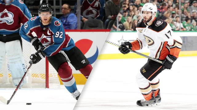 Colorado Avalanche vs. Anaheim Ducks