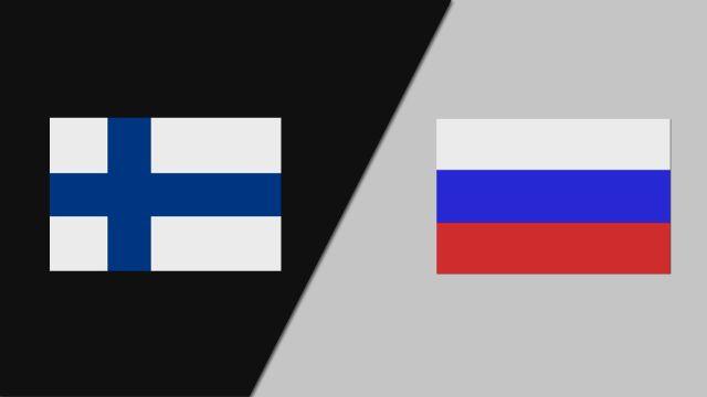 Finland vs. Russia (FIBA World Cup Qualifier)
