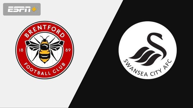 Brentford vs. Swansea City (English League Championship)