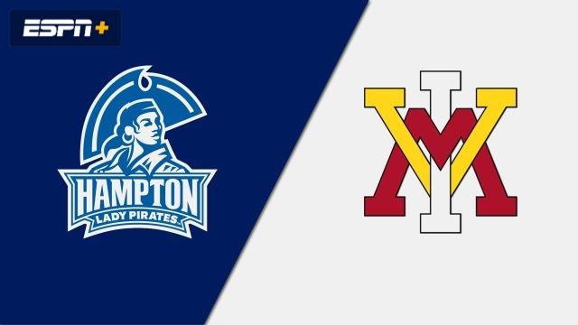 Hampton vs. VMI (W Soccer)