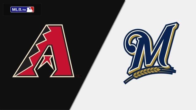 Arizona Diamondbacks vs. Milwaukee Brewers