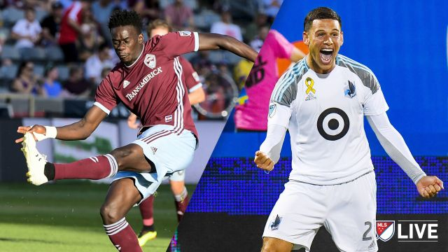 Colorado Rapids vs. Minnesota United FC