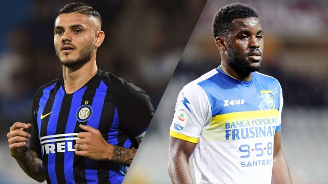 Internazionale vs. Frosinone (Serie A)