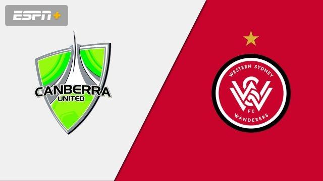 Canberra United vs. Western Sydney Wanderers FC (W-League)