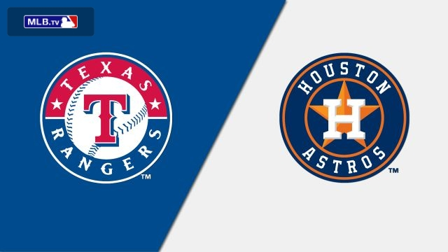 Texas Rangers vs. Houston Astros