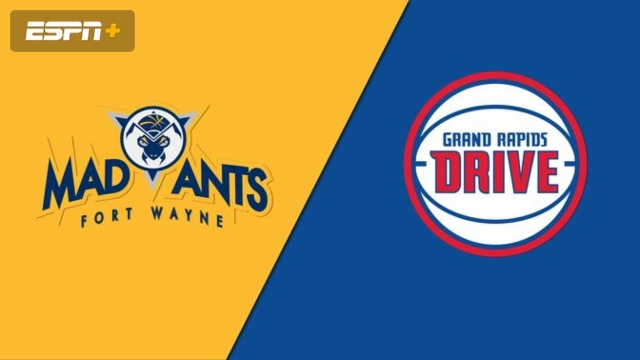 Fort Wayne Mad Ants vs. Grand Rapids Drive