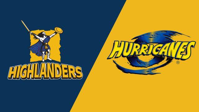Highlanders vs. Hurricanes (Super Rugby)