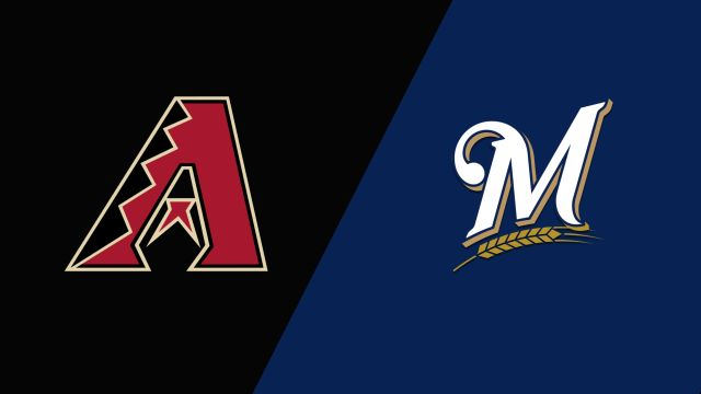 Arizona Diamondbacks vs. Milwaukee Brewers