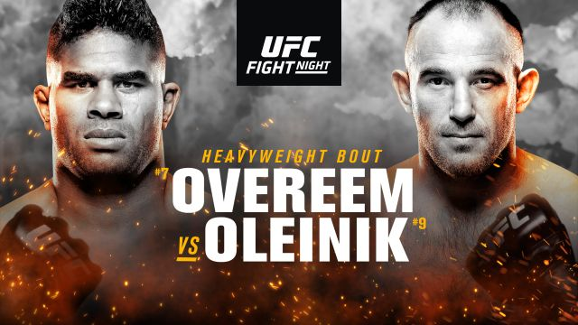 UFC Fight Night: Volkov vs. Overeem (Main Card)