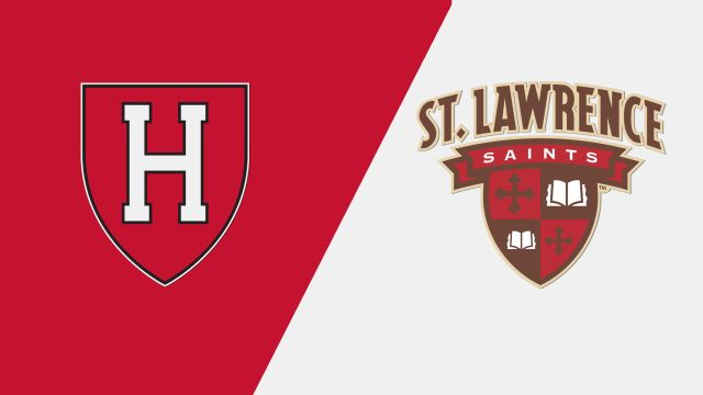 #15 Harvard vs. St. Lawrence (M Hockey)