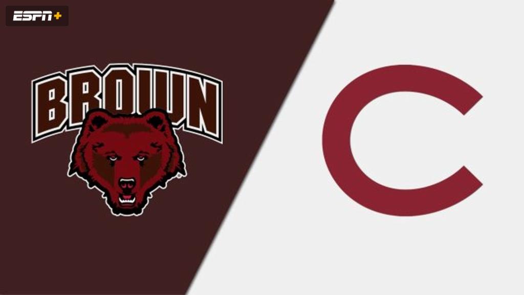 Brown vs. Colgate (W Hockey)