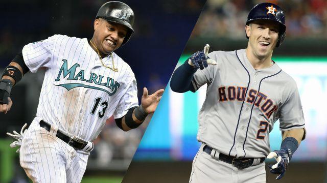 Miami Marlins vs. Houston Astros
