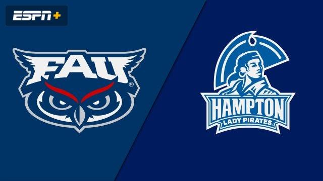 Florida Atlantic vs. Hampton (W Basketball)