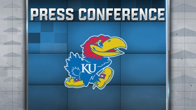 Kansas Football Press Conference