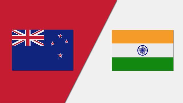 New Zealand vs. India (1st T20)
