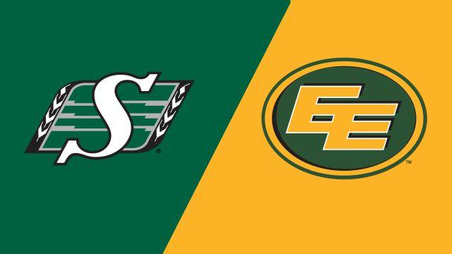 Saskatchewan Roughriders vs  Edmonton Eskimos