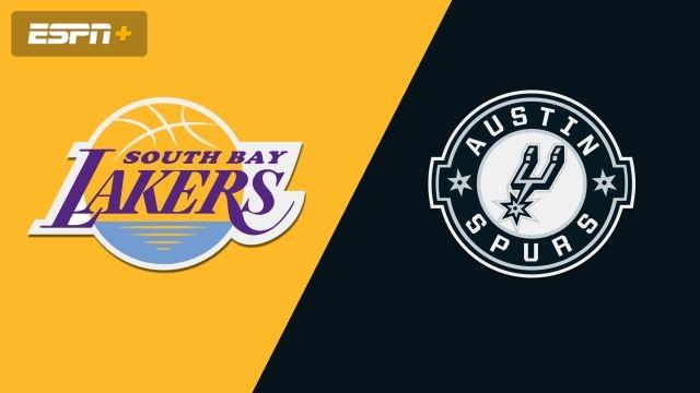 South Bay Lakers vs. Austin Spurs