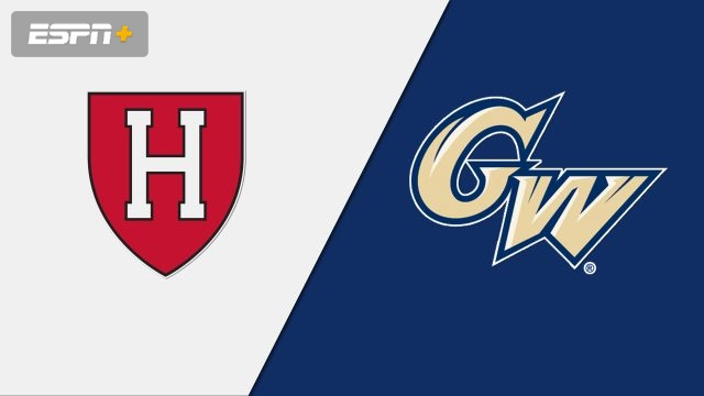 Harvard vs. George Washington (M Basketball)