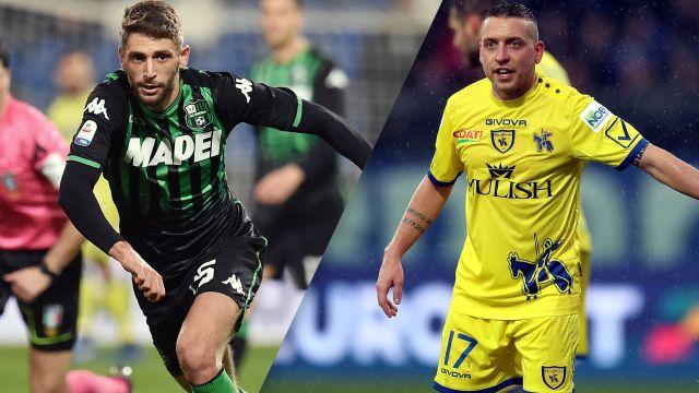 Sassuolo vs. Chievo (Serie A)