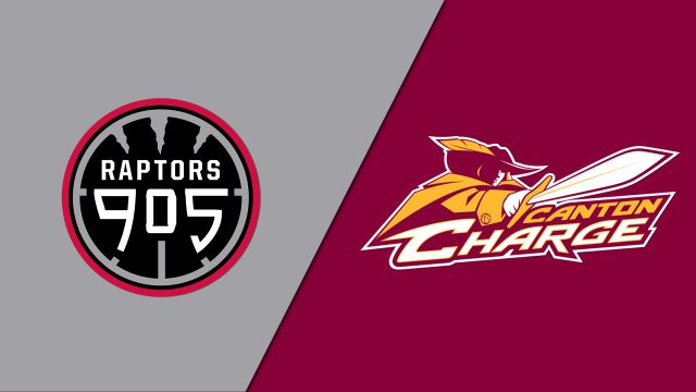 Raptors 905 vs. Canton Charge