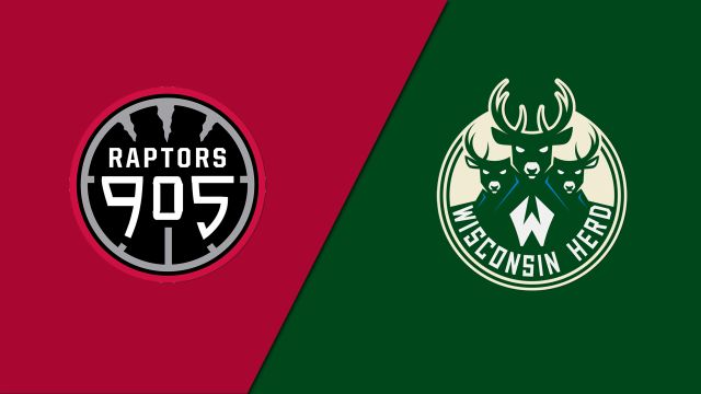 Raptors 905 vs. Wisconsin Herd