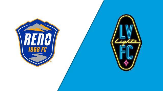 Reno 1868 FC vs. Las Vegas Lights FC