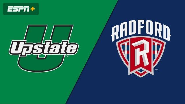 USC Upstate vs. Radford (M Soccer)