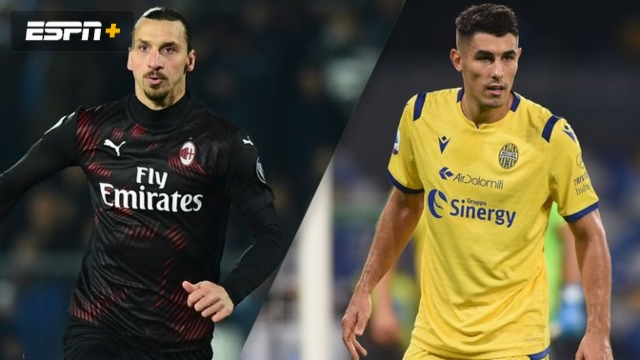 In Spanish - AC Milan vs. Hellas Verona (Serie A)