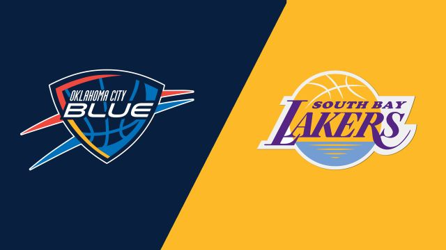 Oklahoma City Blue vs. South Bay Lakers