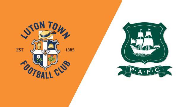 Luton Town vs. Plymouth Argyle (English League One)