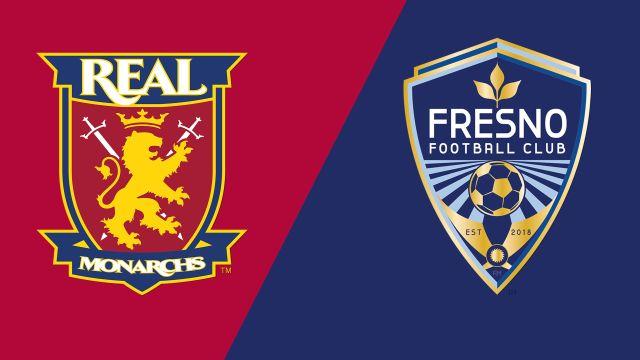 Real Monarchs SLC vs. Fresno FC