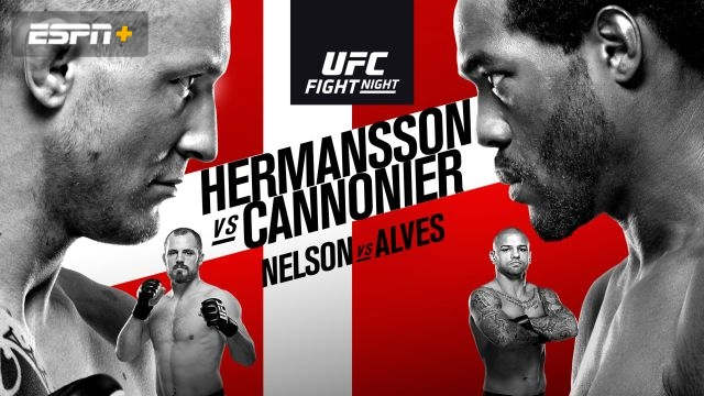 UFC Fight Night: Hermansson vs. Cannonier