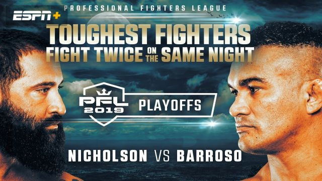 PFL Playoffs: Heavyweight and Light Heavyweight