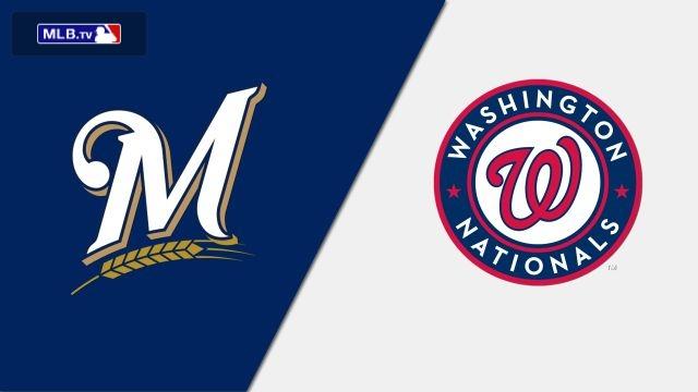 Milwaukee Brewers vs. Washington Nationals