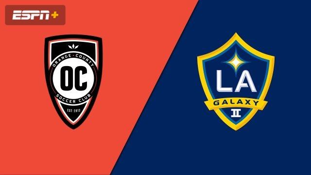 Orange County SC vs. LA Galaxy II (USL Championship)