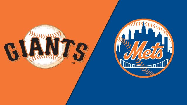 San Francisco Giants vs. New York Mets