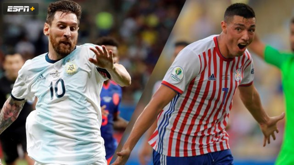Argentina vs. Paraguay (Group Stage) (Copa America)