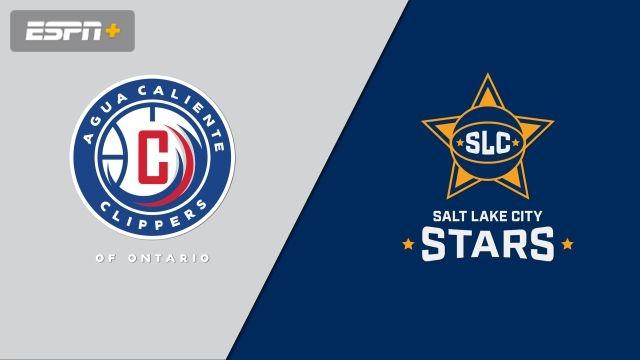 Agua Caliente Clippers vs. Salt Lake City Stars