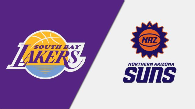 South Bay Lakers vs. Northern Arizona Suns