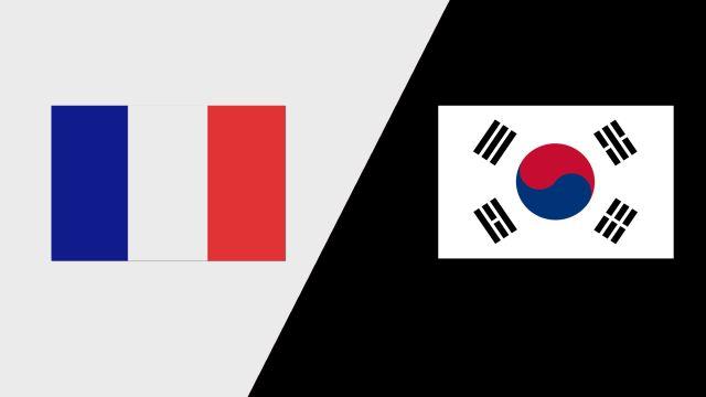 France vs. Korea (Group Phase)